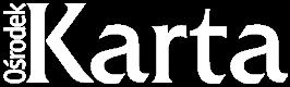 Logotyp Ośrodka KARTA